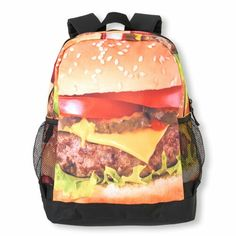 Photo-Real Burger Backpack