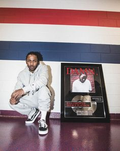 Kendrick Lamar's latest album 'DAMN' has been certified platinum by the Record Industry Association of America. The excited rapper … King Kendrick, Kendrick Lamar, Jazz Artists, Music Artists, Kung Fu Kenny, First Rapper, Double Platinum, Hip Hop Rap, Urban