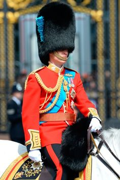 Prince William at Trooping the Colour. Lands new Army role in London ahead of Kensington Palace move.
