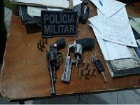 CONEXÃO PASSIRA: POLÍCIA MILITAR APREENDEM SUSPEITOS DE ROUBAREM MO...