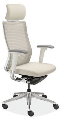 Under the Choral office chair's simple, timeless design lies an advanced ergonomic solution. It provides leg and back support. This modern office chair is available in the U. exclusively at Room & Board.