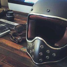 Bad ass motorcycle helmet