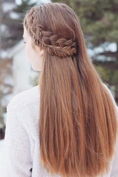 Cute Easy Hairstyles For Long Hair New The 5 Strand Braid  Hair Style Hair Goals And Fun Hairstyles