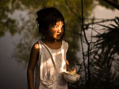 Blinded by the light, Village near Can Tho - Mekong Delta by theblackstar
