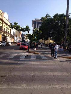 Calle Fray Andres de Olmos entre Emilio Carranza y S. Díaz Mirón Zona Centro de Tampico.  ========================   Rolando De La Garza Kohrs  http://About.Me/Rogako  ========================