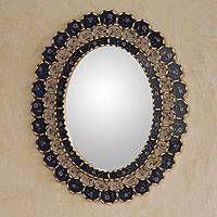 beads decorative mirror