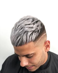 #haircolor Cool Hairstyles For Men, Cool Haircuts, Haircuts For Men, Men's Hairstyles, Straight Haircuts, African Hairstyles, Vintage Hairstyles, Wedding Hairstyles, Mens Hair Colour