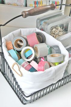 My Washi Tape: IDEAS | COMO LAS GUARDAS | STORAGE