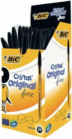 BIC Kugelschreiber Cristal fine, 0.35mm