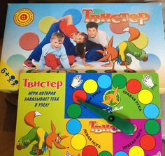 NEW RUSSIAN TWISTER GAME~NEVER USED