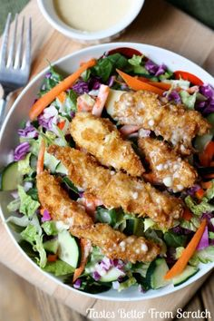 Applebee's Oriental Chicken Salad Copycat