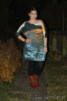 17.11.12 - wearing: H Trend dress, H leggings, Sommerkind boots, DKNY watch and Gilson Martins bracelet (from Brazil)