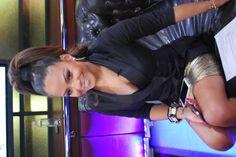 The Voice social media correspondent Christina Milian rocking a high pony. #TheVoice