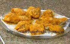 Como hacer pollo empanizado en microondas