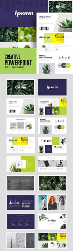 Creative Business Powerpoint Template - 18 Unique Custom Slides - Download here: https://graphicriver.net/item/creative-business-powerpoint-template/21822778?ref=ksioks