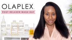 Healthy Relaxed Hair, Healthy Hair, Hair Hacks, Hair Tips, Hair Ideas, Hair A, Grow Hair, Sulfate Free Shampoo, Hair Regimen