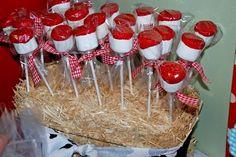 marshmallow for farm party