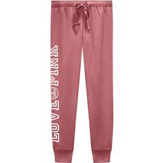 SWEATPANTS ($65) ❤ liked on Polyvore featuring activewear, activewear pants, sweat pants, skinny jogger sweatpants, super skinny sweatpants, victoria secret activewear and skinny fit sweatpants