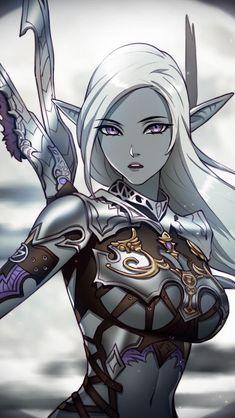 gorgeous dark elf