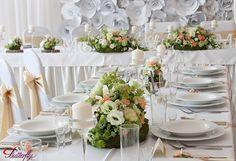 wiosenna dekoracja ślubna