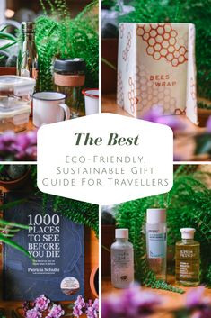 What do you get for the travel loving person in your life? Here are some of my favourite sustainable eco-friendly gift ideas for the traveller in your life! Best Travel Gifts, Best Gifts, Travel Presents, Environmentally Friendly Gifts, Travel Must Haves, Travel Essentials, Travel Hacks, Travel Advice, Travel Guides