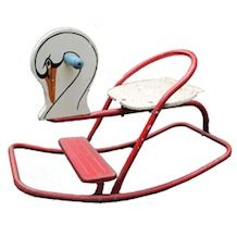 Vintage swan rocker - if its vintage does that mean it's recycled and therefore a good green option?