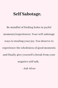 Inspirational Quotes | Healing | Self love quotes |  Motivational | Powerful | Self Sabotage