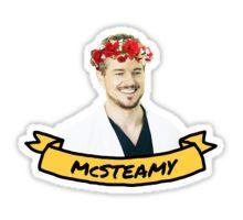 McSteamy Sticker