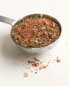 This seasoning is used for Emeril's Yellowfin Tuna with Grilled Pineapple Salsa, Simple Turkey Meatloaf, Chicken Cordon Bleu, Southern-Style Pan-Fried Catfish, and Creole-Spiced Fried Chicken. Burger Seasoning, Creole Seasoning, Seasoning Mixes, Seasoning Recipe, Stuffing Seasoning, Cajun Seasoning, Homemade Spices, Homemade Seasonings, Cajun Cooking