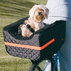 Dog Rider Bicycle Seat Lookout 2