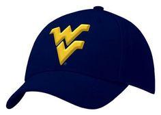 WVU Mountaineers Nike Swoosh Flex Hat. Standard and sporty.
