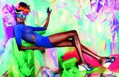 more!  colour!  The skin The legs The smile  We love @TheRealAlekWek  Alek wek for @MelissaShoesUS