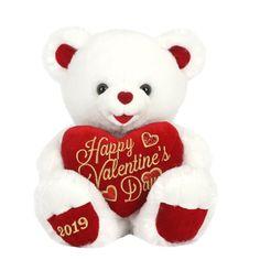 Big White Teddy Bear Soft Plush Giant I Love You Cushion Valentine Gift Valentines Day Gifts For Him Marriage, Valentines Day Teddy Bear, Diy Valentines Day Gifts For Him, Happy Valentines Day, Diy Valentine's Gifts For Her, Romantic Gifts For Him, White Teddy Bear, Teddy Bears, Plush