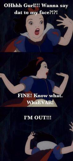 Alternate subtitles for Snow white.