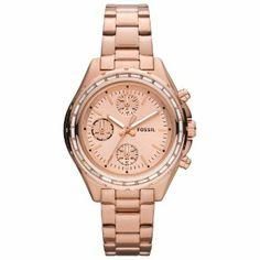 Fossil Damen-Armbanduhr Dylan Chronograph Edelstahl CH2826: Amazon.de: Uhren
