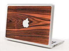 Rosewood Macbook Skin