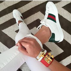 Hermes and Gucci