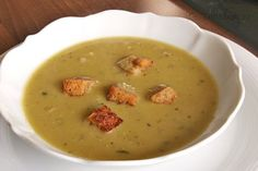 Hrachová polévka v pomalém hrnci Cheeseburger Chowder, Crock Pot, Slow Cooker, Soup, Crockpot, Soups, Crock
