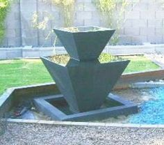 Modern Fountain