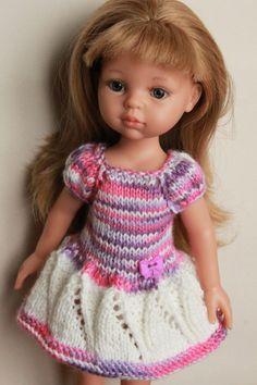 Много вязаных платьев на рост 27-35см. / Одежда для кукол / Шопик. Продать…