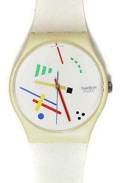 80s Swatch Watch - Vasily Maxi design
