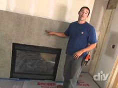 Another fireplace resurfacing info video. Stacking stones. I love the way this looks! :)