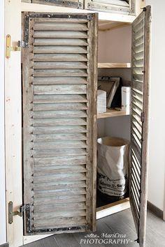 old shutters by Miriam Zeilmann