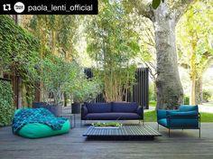 As cores pelos olhos de Paola Lenti são sempre mais vivas! Diretamente de Milão. #Repost @paola_lenti_official with @repostapp.  Kabà outdoor armchair and sofa by @elianedkov  #paolalenti #novelty #isaloni #isaloni2016 #fuorisalone #fuorisalone2016 #milan #milano #milandesignweek #milanodesignweek #designweek #design #decor #architecture #furniture #details #style #beauty #colours #quality #weave #outdoor #home #collection by casamatriztecer