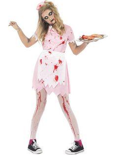 Dead Diner Waitress Costume
