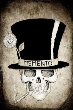 Baron Samedi Skull Portrait. memento mori