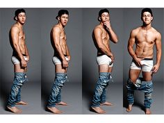 Nick Jonas Bares Almost All (and Grabs His Crotch, of Course) in New Photo Shoot: See the Provocative Shots http://stylenews.peoplestylewatch.com/2014/10/02/nick-jonas-abs-underwear-shirtless-photos-flaunt/