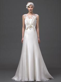 Hermoso vestido de Alberta Ferreti Bridal 2015 Collection