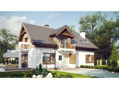case cu 3 dormitoare si 3 bai
