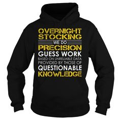 Overnight Stocking Job Title T-Shirts, Hoodies. VIEW DETAIL ==► https://www.sunfrog.com/Jobs/Overnight-Stocking-Job-Title-Black-Hoodie.html?id=41382